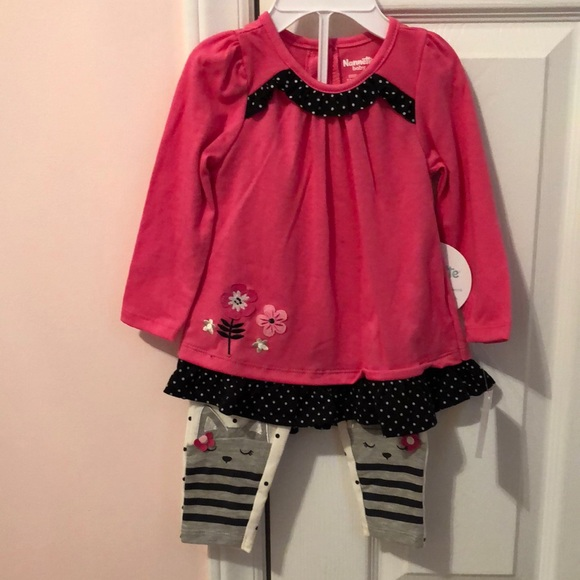 NWT 9/12 baby girl outfit